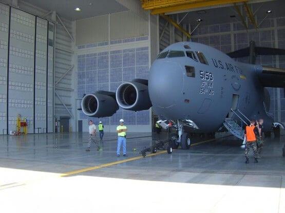 C-17 Corrosion Control Hangar