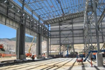 Kennecott Utah Copper Cornerstone Project Concentrator Truckshop Expansion