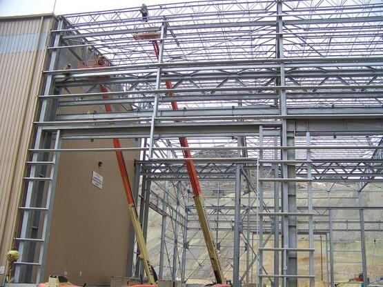 Kennecott Utah Copper Cornerstone Project Concentrator Truckshop Expansion