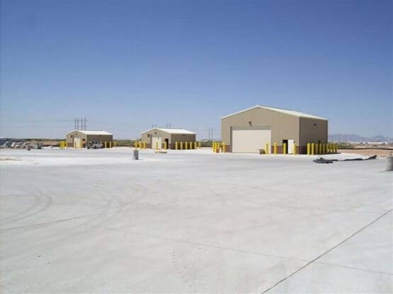 Fort Bliss Tactical Equipment Maintenance Facilities